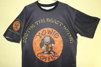 yowie coffee premium t-shirt